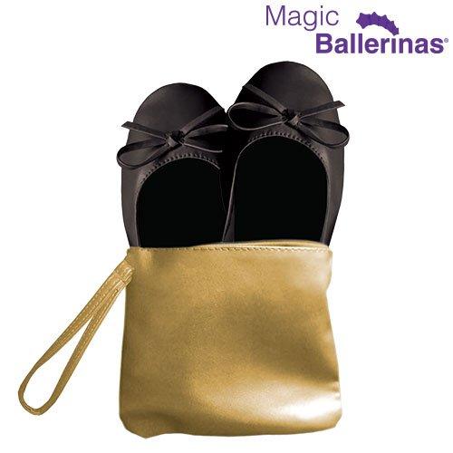 Mamzelle O Magic S, Bailarinas con Punta Cerrada para Mujer, Negro (Negro...