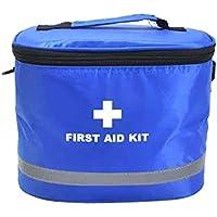 Mit Schultergurt Portable Haushalt Erste Hilfe Kit / Tasche, blau preisvergleich bei billige-tabletten.eu