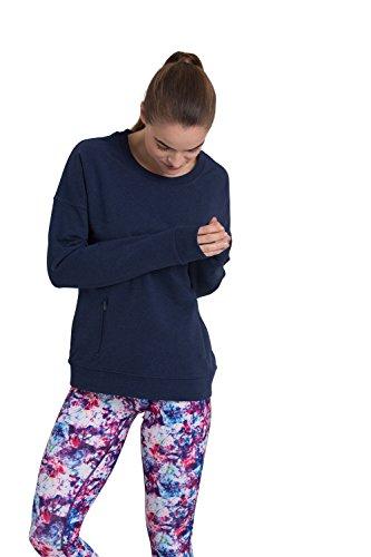 Zakti Time For Tee Sweatshirt Noir Bleuté