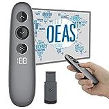 Doosl Remote Wireless Presenter mit LCD Display Wireless USB Powerpoint