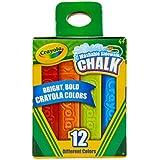 Crayola 12 Count Sidewalk Chalk cdlGPb, 2 Pack (12 Count)