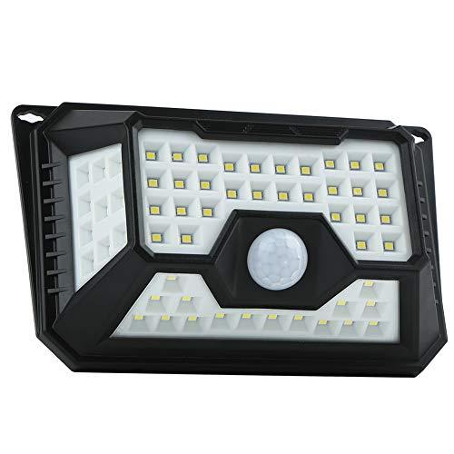 Lin XH Solar Außensicherheits Wandleuchten, 66 LED Solarlampe Außen Infrarotbewegungs Sensor drahtlose wasserdichte Nachtlichter für Garten, Patio, Zaun