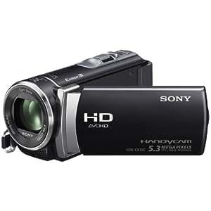 Sony HDRCX190 Caméscopes à mémoire Flash Port SD/Memory Stick Full HD 5,3 Mpix Zoom optique 25x Noir