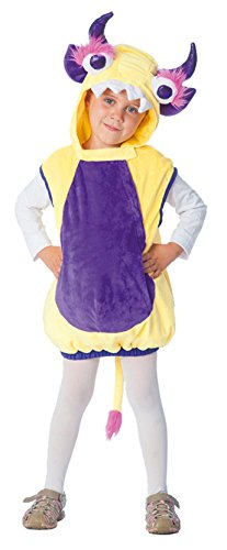 Oh2005-104 gelb-lila Loki Kinder Monster Weste Kostüm - Loki Kinder Kostüm