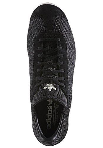 adidas Gazelle Primeknit, Scarpe da Ginnastica Basse Uomo nero (Negbas/Negbas/Casbla)