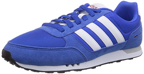 adidas City Racer, Chaussures Homme - Multicolor (Bleue/Ftwwht/Powred)