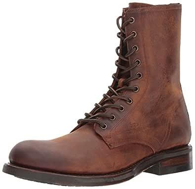 FRYE Men's Folsom Combat Boot, Redwood