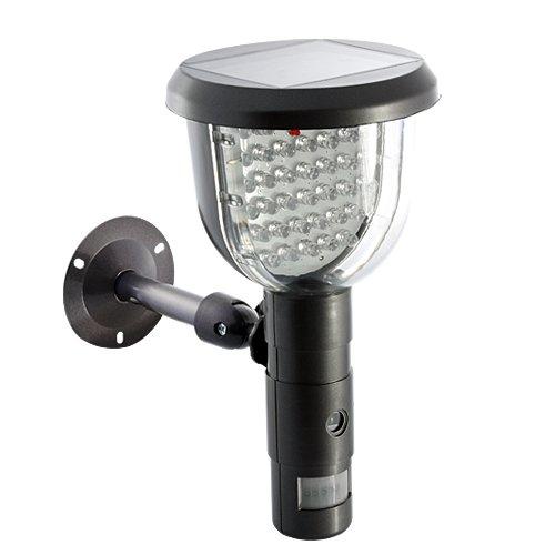 Solar Dvr (Solar-DVR-Überwachungskamera, Videoaufnahme, PIR-Bewegungsmelder, weißes LED-Licht, 39-I158 CVOW)