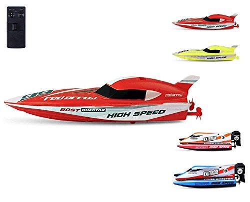RC ferngesteuertes mini Speedboot mit integriertem Akku, Komplett-Set inkl. Fernsteuerung, RC Boot, RC Schiff, Neu, OVP Das Boot Spiel