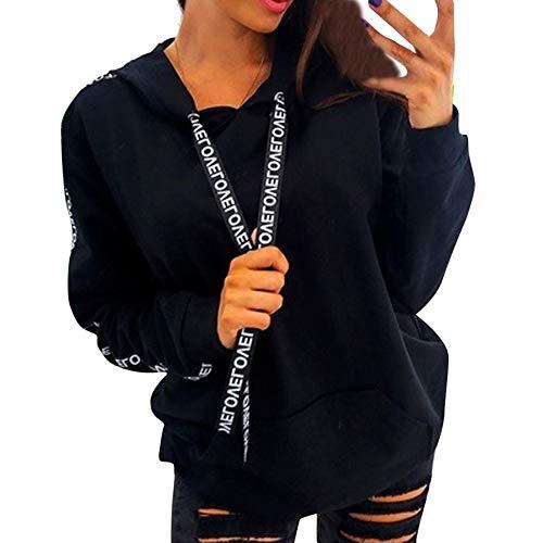 Sweatshirts Damen Oversize Staresen Hoodie Damen Tumblr Große Größen Pullover Kapuzenpullover Tops Herbst Langarmshirts Mantel Jacke Bluse Oberteile S - XXXXXL