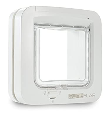 Trixie Cat Flap with Microchip Identification