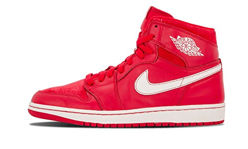 Nike Air Jordan 1 Retro High Og, Chaussures de Sport Homme, Blanc, S Rojo / Azul (Gym Red / Sail)