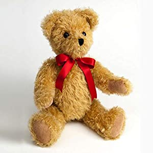 Canterbury Bears ltd 120 Gregory Mohair - Oso de Peluche, Color Dorado