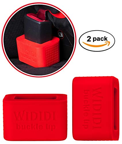 2 unidades Soporte para la hebilla del cinturón de seguridad del coche de Wididi Buckle Up - Fácil Instalación