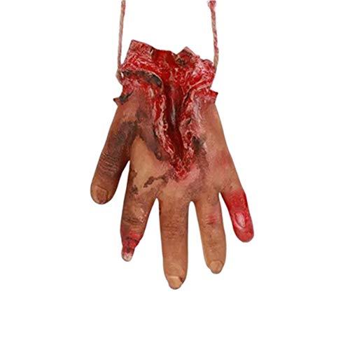 Halloween Requisiten Körperteile - JZTRADING Cosplay-Dekor Heikle Halloween Requisiten Realistische