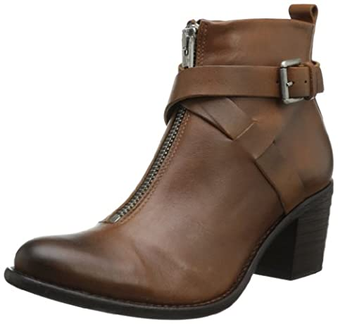 Diesel femme Bottes Brown « show Chelsea » en cuir véritable (EUR 40, Marron)
