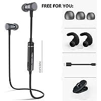 Sound Intone H6 - Auriculares inalámbricos Bluetooth Deportivos con micrófono Negro