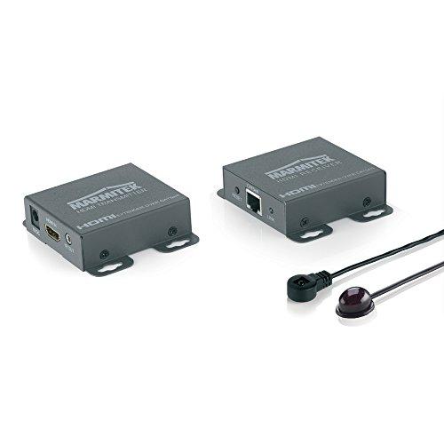 Marmitek MegaView 66 - HDMI Extender - über 1 CAT 5e/6 Kabel - Full HD - 1080P - 60m - Infrarot Rückkanal - Schauen Sie Ihren HD-Content anderswo auf Ihrem Fernseher Hd-a/v-cat5e/6 Receiver
