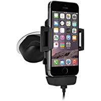 iGRIP T5-1800 Dock Kit - Universal Halterung mit Lademöglichkeit - z. B. Apple iPhone 7/8 (Plus)/SE, Samsung Galaxy S7 (edge), One Plus 3T, Google Pixel Serie [5 Jahre Garantie | Made in Germany | 360 Grad drehbar | vibrationsfrei]