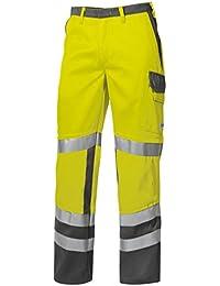 BP® Arbeitshose, 2210 840 8653 Arbeitskleidung Schutzkleidung Arbeitshose Warngelb 44-64