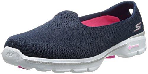 Skechers Go Walk Inisght, Scarpe da Ginnastica Donna Azul (Nvy)