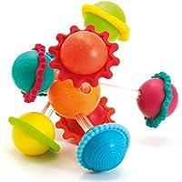 Imaginarium Claki Asteroid - Sonajero de bolas de colores, unisex