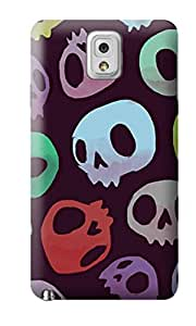 The Fappy Store Skulls plastic Back Cover For Samsung Note 3