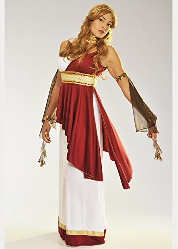 Römische Kostüm Für Damen Kaiserin Erwachsene - Magic Box Int. Erwachsene Damen Imperiale römische Kaiserin Kostüm Small (UK 8-10)