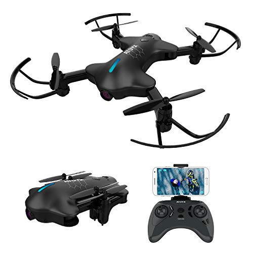 ATOYX AT-146 Drone con Cámara, 720 HD Mini Drone Plegable con App WiF