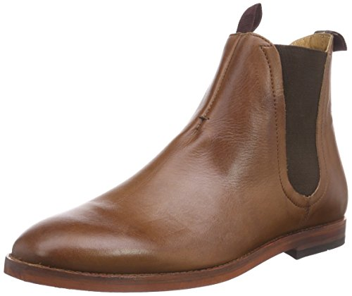 Hudson London TAMPER Herren Chelsea Boots Braun (Tan)