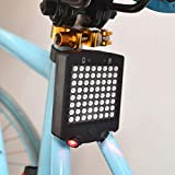 Fernando Guapo USB Charging Bike Turn Signals Lights Bicycle Direction Indicator Taillight Rechargeable