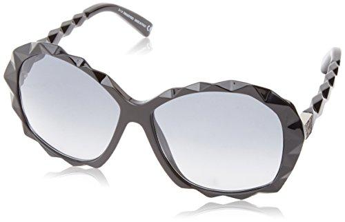 Swarovski Damen Sunglasses Sk0002 01B-60-13-135 Sonnenbrille, Schwarz, 60