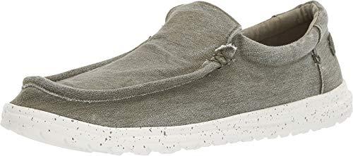 Dude Shoes Herren-mikka Gewaschen Salbei UK9 / EU43