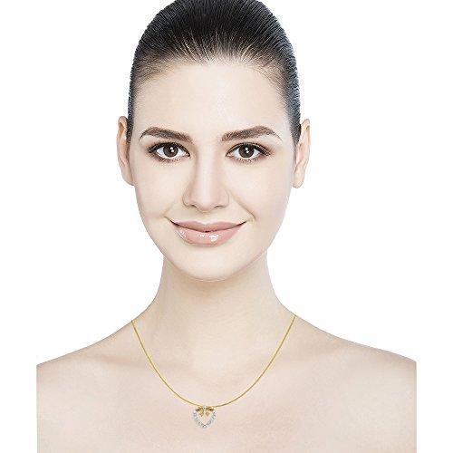 Araanz Jewels 18k Yellow Gold and Diamond Pendant