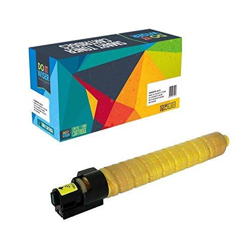 Doitwiser ® kompatible Gelbe Tonerpatrone für Ricoh Aficio MP C4503 SP MP C4503 ASP MP C5503 SP MP C5503 ASP (841854) hohe Kapazität 22.500 Seiten