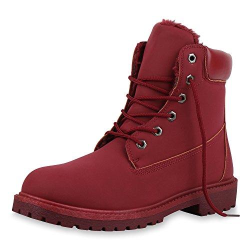 Herren Stiefel Rot - SCARPE VITA Herren Worker Boots Outdoor