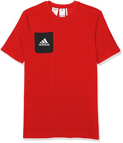 adidas Jungen Tiro 17 T-Shirt, Rot, 176