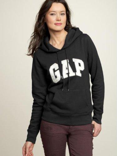 gap-mujer-hoodie-negro-saten-arch-logo-talla-38-size-m-nuevo-de-los-estados-unidos