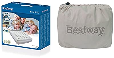 Bestway Restaira Premium Air Bed with Built-In Electric Pump and Pillow - inexpensive UK light store.