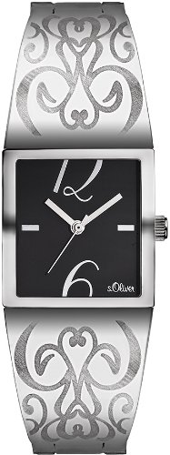 s.Oliver Damen-Armbanduhr SO-1745-MQ