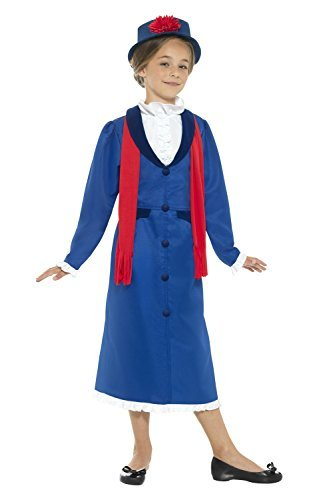Für Jugendliche Kostüm Elsa - Viktorianische Kindermädchen - Kind und jugendlich Kostüm (UK 4-6 years)
