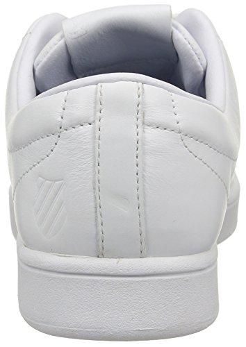 K-Swiss Washburn, Basses Homme Blanc (White/White)