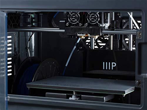 Monoprice Dual Extruder 3D-Drucker - Schwarz mit beheizter Bauplatte (230 x 150 x 160 mm) Vollständig geschlossen, eingebaute Kamera, automatische Wiederaufnahme, Touchscreen, einfaches WLAN - 5