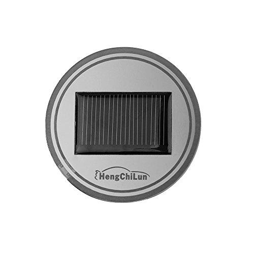 ourleeme Wasserdicht Solar LED Auto Becherhalter Matte… | 00191461205063