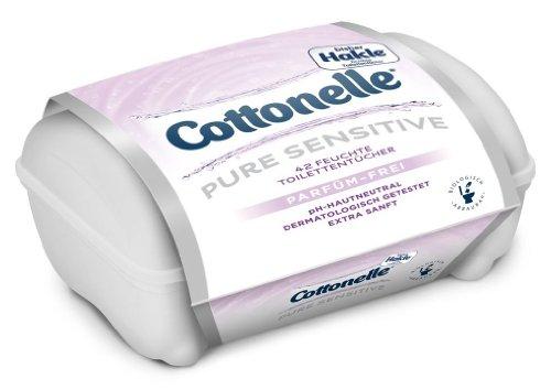 cottonelle-pure-sensitiv-boite-de-42-linguettes-humides-de-papier-toilette