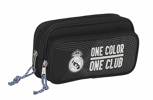 Portatodo Real Madrid Black bolsillo