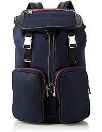 c016564815 Tommy Hilfiger Urban Novelty Flap Backpack - Zaini Uomo, Blu (Tommy  Navy/Black