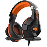 Cosmic Byte H11 Gaming Headset with Microphone (Black/Orange)