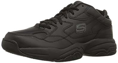 Skechers Mens Felix-Keystone Work Shoes Black 76690 BLK 6 UK