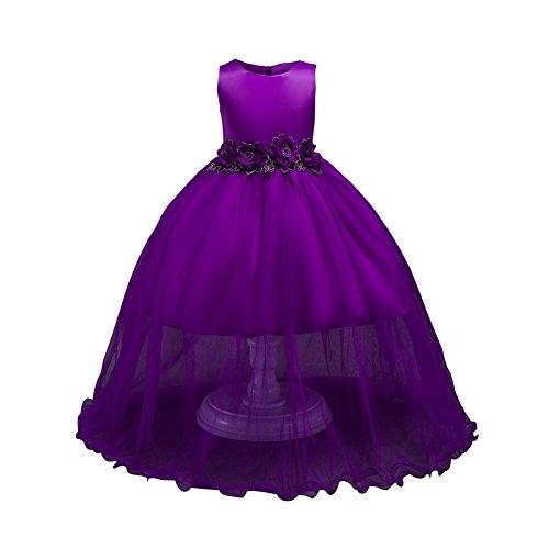 id Prinzessin Kleid Formelles Kleid Tüll Perspektive Tanzkostüme Hochzeit Geburtstagsparty Ball Formelle Anlässe Kinder Anzieh (Prinzessinnen Anzieh)